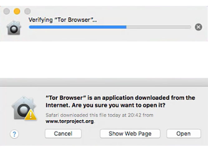 open tor browser
