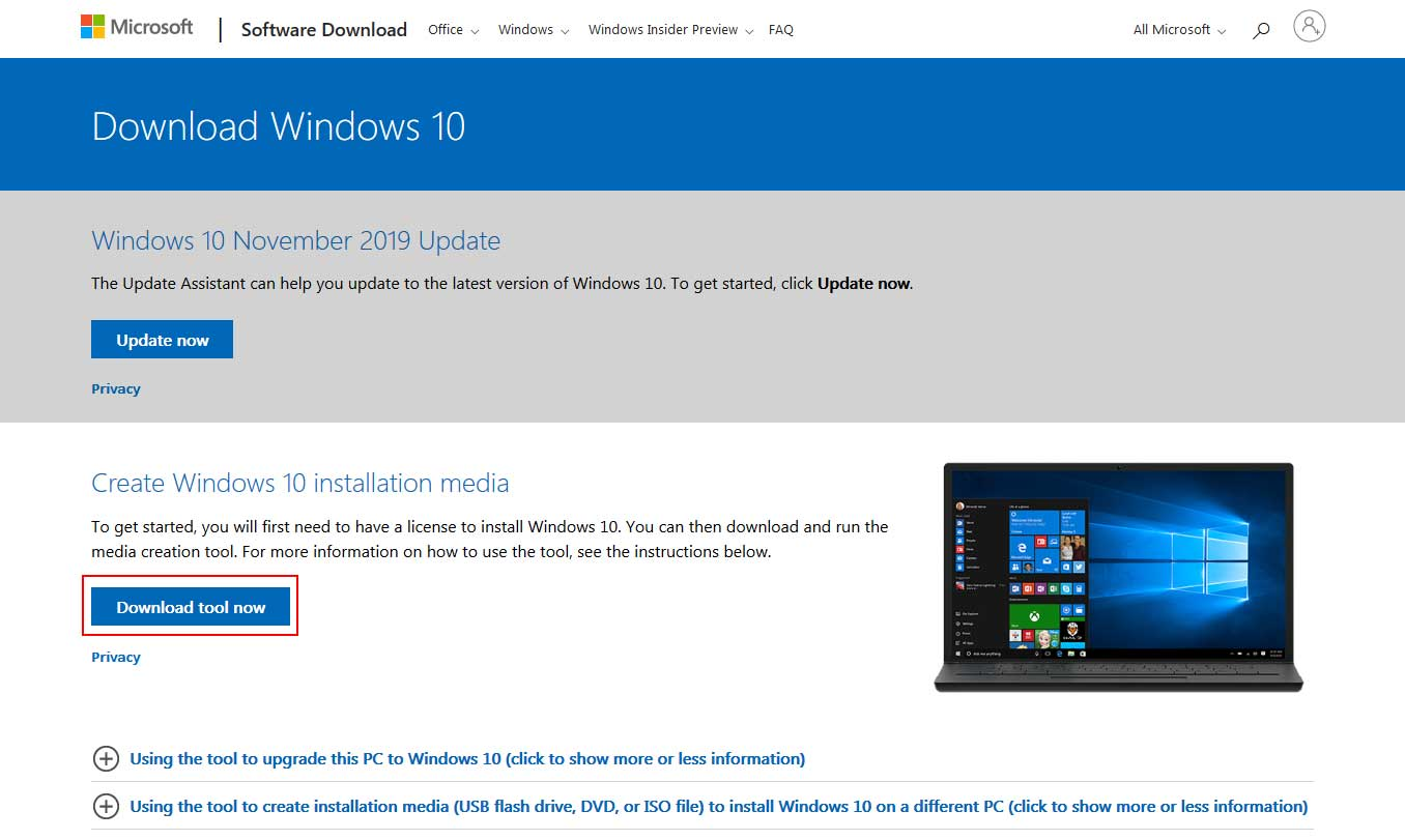Download Windows 10