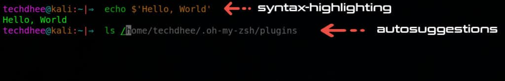 Oh-My-Zsh-plugins-working